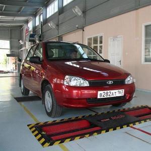 Линия технического контроля для полноприводных легковых автомобилей и микроавтобусов ЛТК-С 3500М (МЕТА)