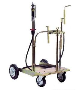 Установка для раздачи консистентной смазки для бочек 200 литров 37150/64070