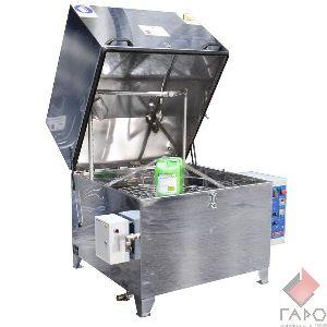 Автоматическая мойка деталей и агрегатов с электроприводом корзины МД-100Е (ГАРО)